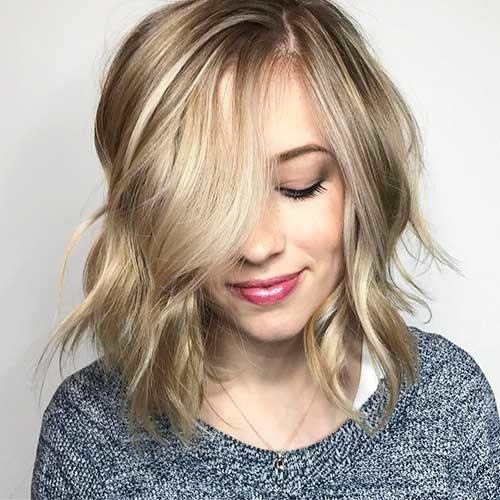 Blonde-Bob-Hair New Cute Hairstyle Ideas for Short Hair