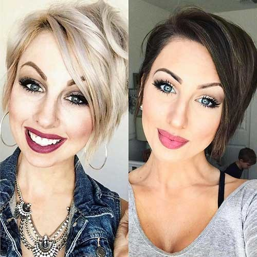 Blonde-or-Brunette New Cute Hairstyle Ideas for Short Hair