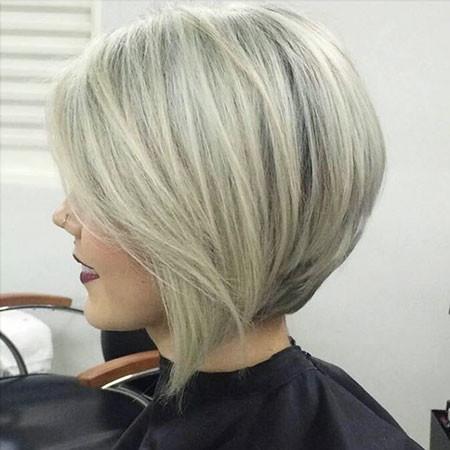 Blonde New Bob Hairstyles 2019