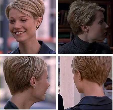 Bouncy-Side-Swept-Short-Pixie-Haircut Short Pixie Cuts for Women