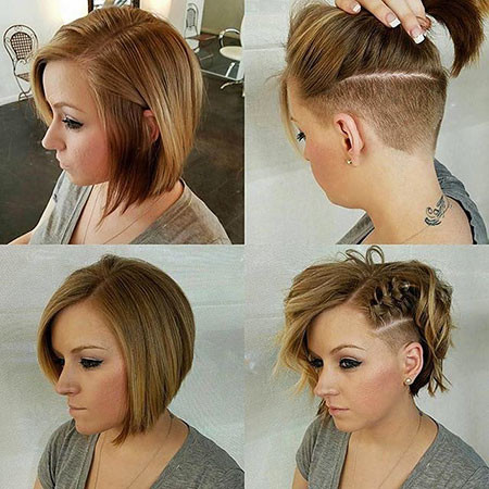 Braid-Bob New Bob Hairstyles 2019