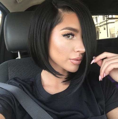 Chic-Bob-Hairstyle Asymmetrical Bob Haircuts