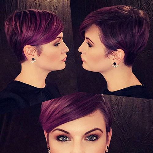 Cute-Hair-Color Best New Pixie Haircuts for Women