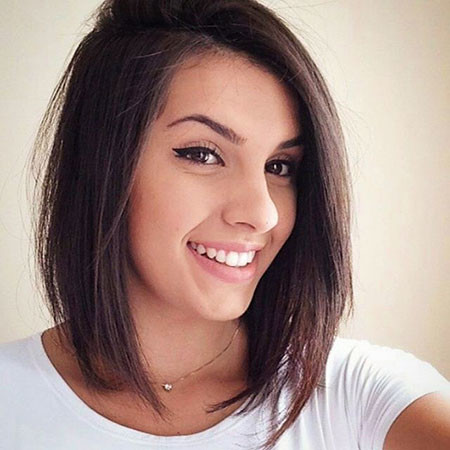 Dark-Cute-Bob New Bob Hairstyles 2019