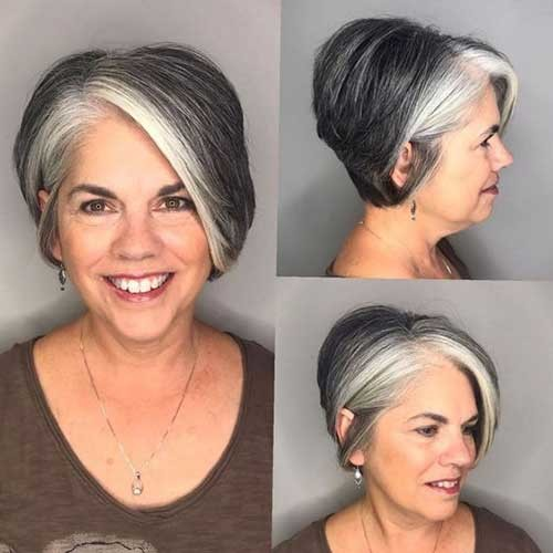 Gorgeous-Short-Hair-Older-Women Short Haircuts for Older Women 2019