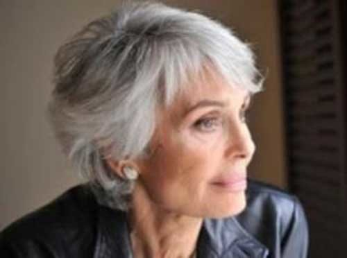 Grey-Short-Hair-Cut-for-Women-Over-50 Short Hair Styles For Women Over 50