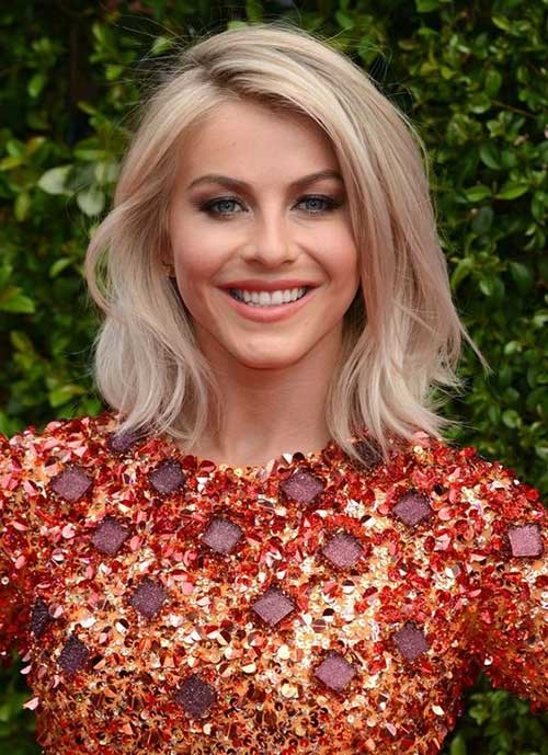 Julianne-Hough-Bob Chic and Eye-Catching Bob Hairstyles