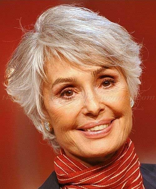 Layered-Short-Cut-Hairdo-Women-Over-50 Short Hair Styles For Women Over 50