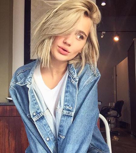 Messy-Blonde-Hair Popular Short Blonde Hair 2019