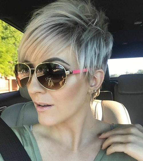 Modern-Pixie-Haircut Latest Short Haircuts for Women 2019