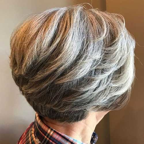 Pixie-Bob-Style Short Haircuts for Older Women 2019