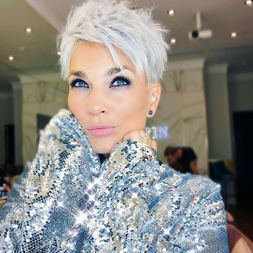 Pixie-Haircut Beautiful Pixie Cuts for Older Women 2019