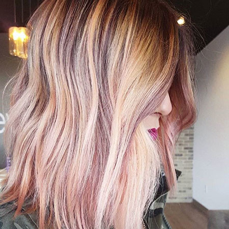 ROSE-GOLD New Bob Hairstyles 2019