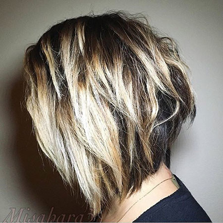 Razor-Bob-Cut New Bob Hairstyles 2019