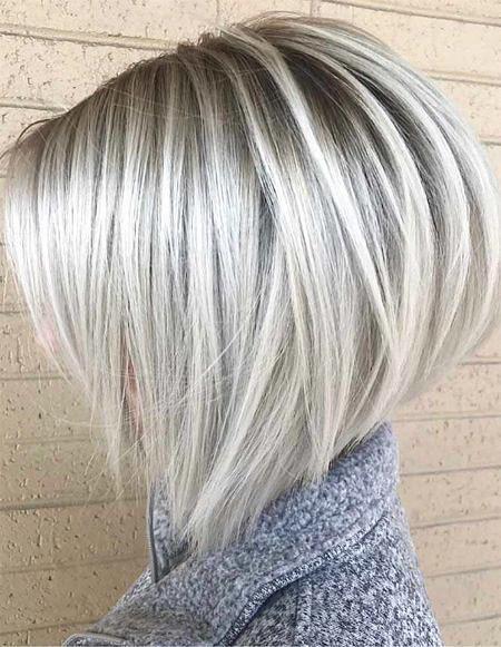 Roubd-Bob-Hair Popular Short Blonde Hair 2019