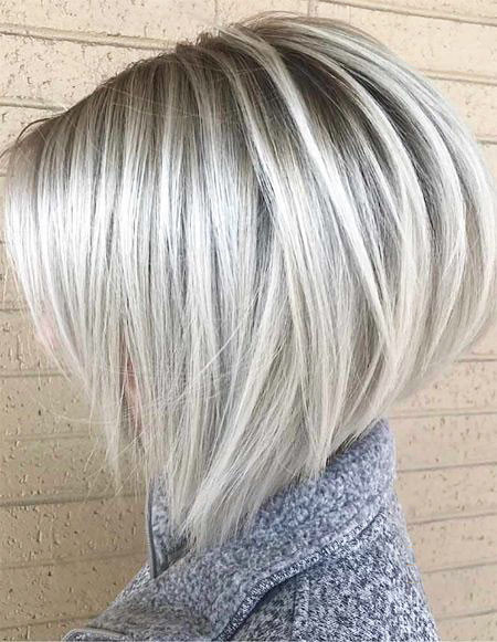 Roubd-Bob-Hair Popular Short Blonde Hair 2019
