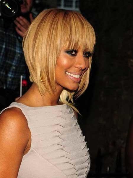 Short-Blonde-Filled-Hair Beautiful Short Celebrity Hairstyles