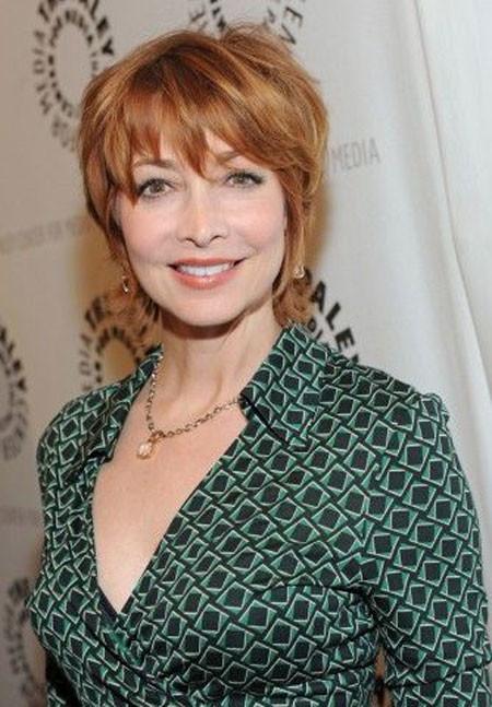 Short-Gorgeous-Ginger-Pixie Short Hair for Older Women