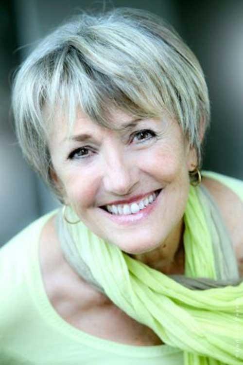 Short-Grey-Hair-for-Women-Over-50 Short Hair Styles For Women Over 50