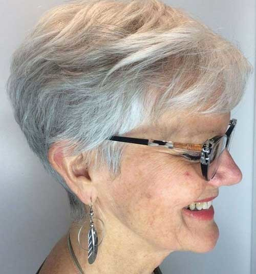 Short-Haircut-for-Older-Women Short Haircuts for Older Women 2019