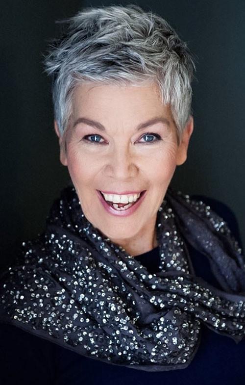 Short-Pixie-Cuts Beautiful Pixie Cuts for Older Women 2019