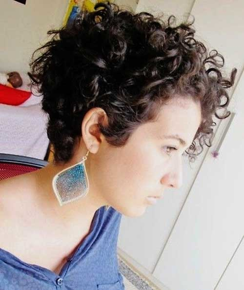 Short-Pixie-Naturally-Hairstyle Good Short Natural Curly Haircuts