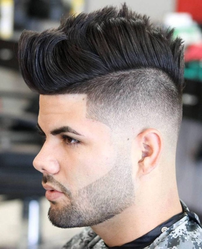 Skin-Fade-Mohawk Stylish Undercut Hairstyle Variations in 2019: A Complete Guide