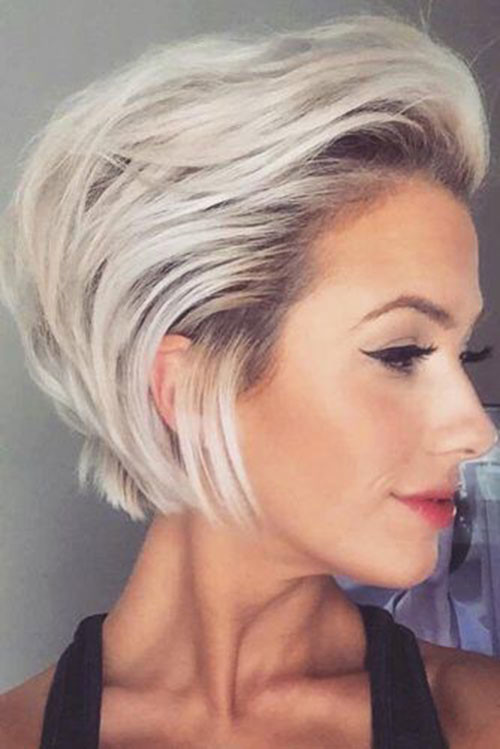 Slicked-Back-Style-1 Latest Short Haircuts for Women 2019