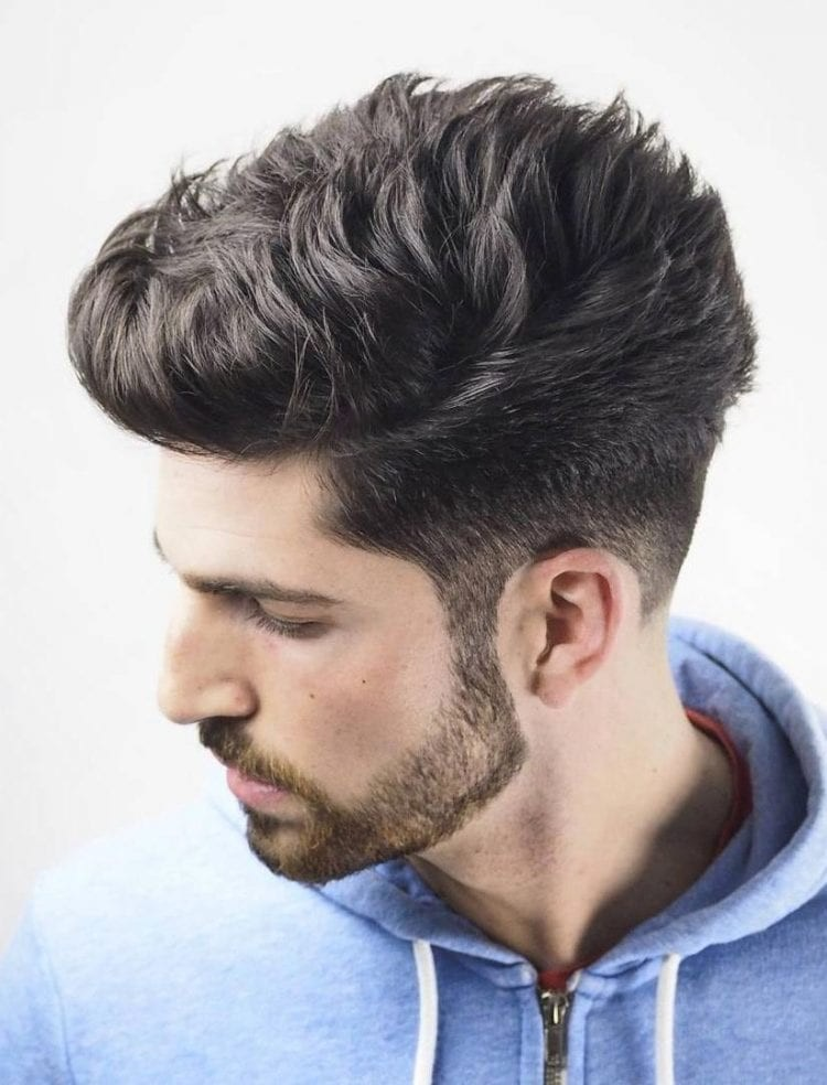 Textured-Faded-Undercut Stylish Undercut Hairstyle Variations in 2019: A Complete Guide