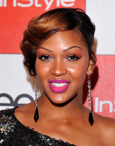 The-Amazing-Pixie-Cut-with-Lovely-Copper-Red-Highlight Nice Short Hairstyles for Black Women