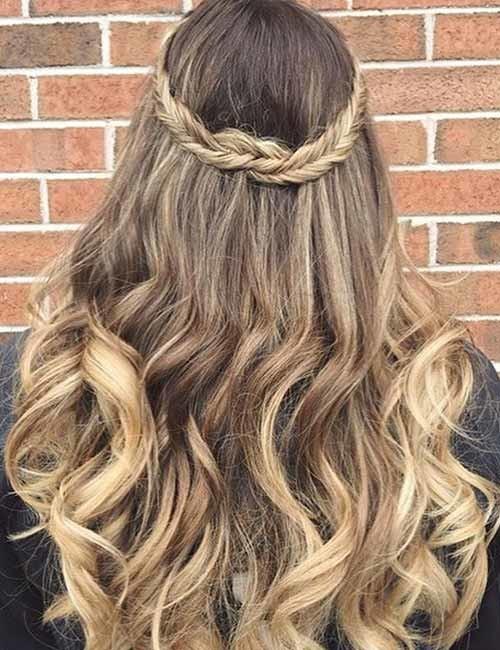 The-Hippie-Crown-Braid Beautiful Crown Braid Hairstyles