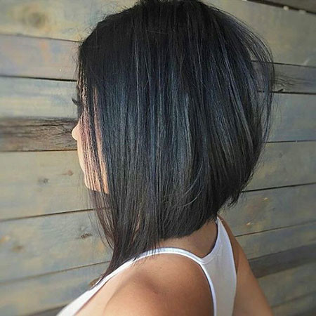 Thick-Bob New Bob Hairstyles 2019