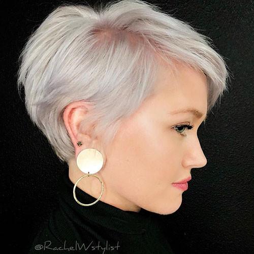 Thin-Hair Best New Pixie Haircuts for Women