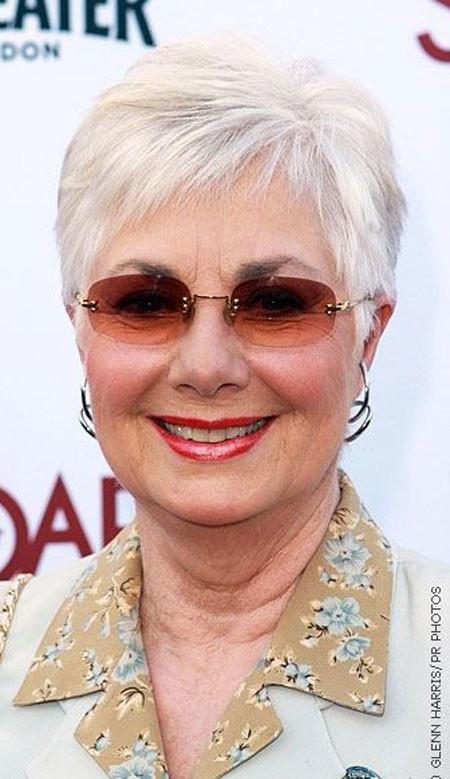 Very-Short-Grey-Classy-Hair Short Hair for Older Women