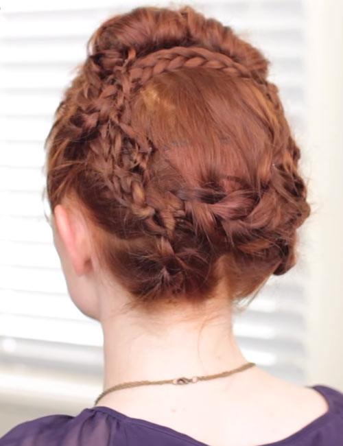 Viking-Crown-Braid Beautiful Crown Braid Hairstyles