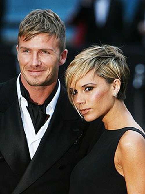 12.Victoria-Beckham-Short-Hair Victoria Beckham Short Blonde Hair