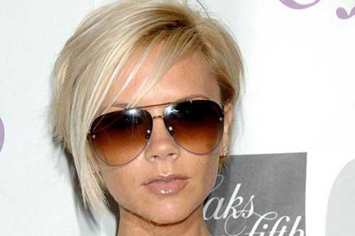 13.Victoria-Beckham-Short-Hair Victoria Beckham Short Blonde Hair