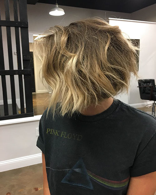 17-blonde-and-brown-highlights-on-short-hair Beautiful Brown to Blonde Ombre Short Hair