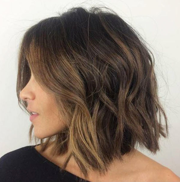 23-short-haircuts-for-thick-wavy-hair New Short Wavy Hair Ideas in 2019