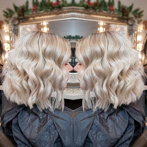 25-short-wavy-blonde-hair New Short Wavy Hair Ideas in 2019