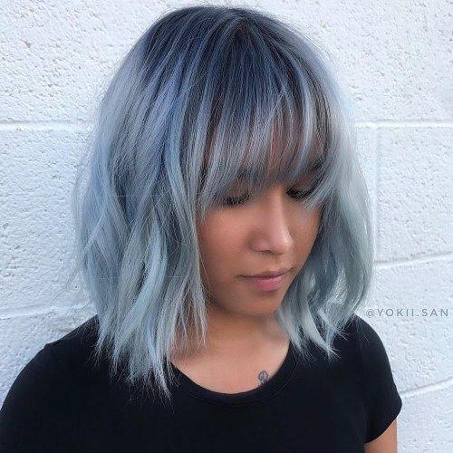 27-short-blue-hair Popular Short Blue Hair Ideas in 2019