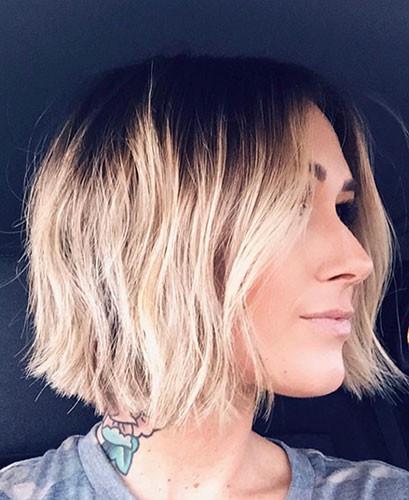 28-blunt-bob Latest Bob Haircut Ideas for 2019
