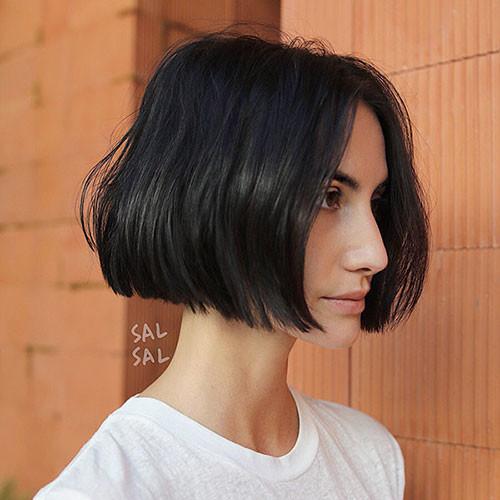 30-blunt-bob Latest Bob Haircut Ideas for 2019