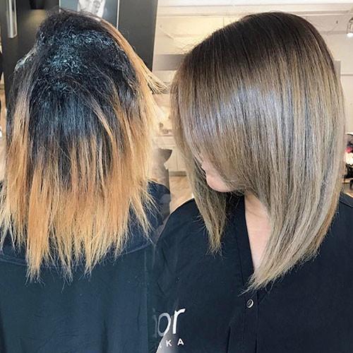 52-medium-length-bob Latest Bob Haircut Ideas for 2019