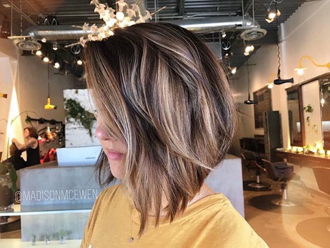 63-medium-length-bob Latest Bob Haircut Ideas for 2019