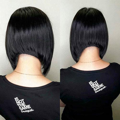 65-angled-bob Latest Bob Haircut Ideas for 2019