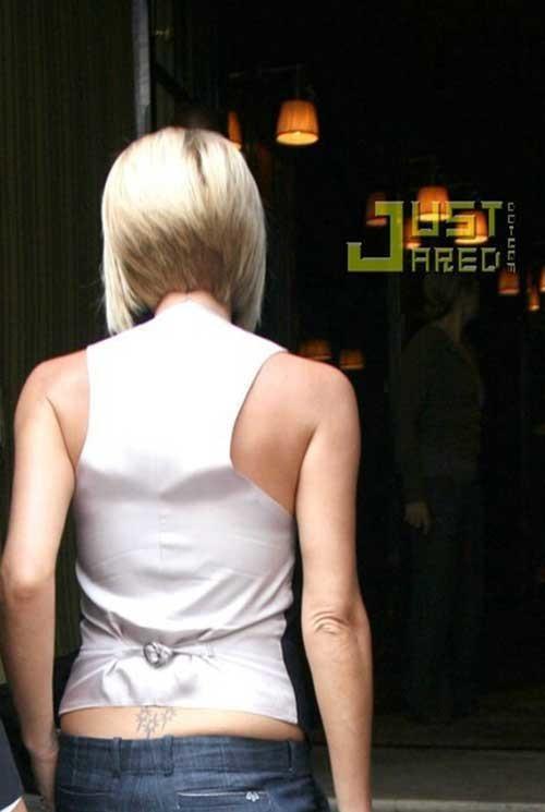7.Victoria-Beckham-Short-Hair Victoria Beckham Short Blonde Hair