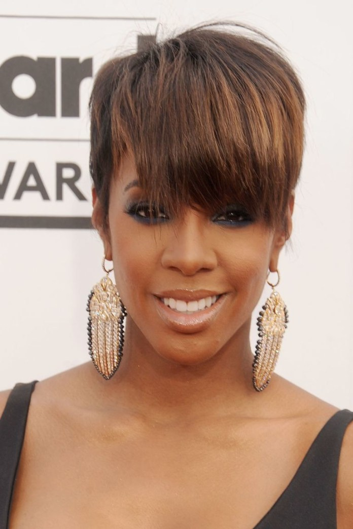 All-in-Front Best Short Hairstyles for Black Women