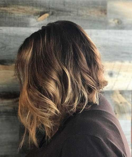 Angled-Bob-Hair Most Magnetizing Hairstyles for Curly and Wavy Hair