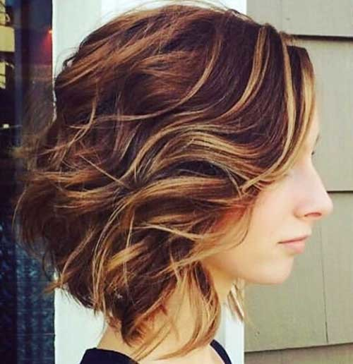 Balayage-Bob-Style Most Magnetizing Hairstyles for Curly and Wavy Hair